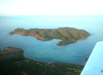 fishingtripmenorca.co.uk boat tours to Illa Colom in Minorca